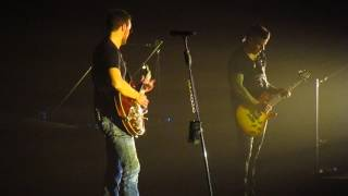 Eric Church at Quicken Loans Arena Two Pink Lines