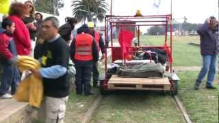 preview picture of video 'TRAVESÍA FERROVIARIA 2011 CAPITULO 11 TRAMO LAS ROSAS-NOETINGER'