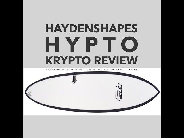 Haydenshapes Hypto Krypto Review + Futures EA Blackstix Fins no.4 | Compare Surfboards