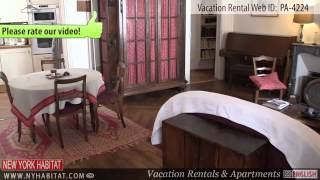 preview picture of video 'Video Tour of a 1-Bedroom Vacation Rental in Montparnasse, Paris'