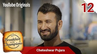 Episode 12 | Cheteshwar Pujara | Breakfast with Champions Season 6