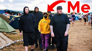 SNEAKING Into The World's Largest Music Festival (BANNED)