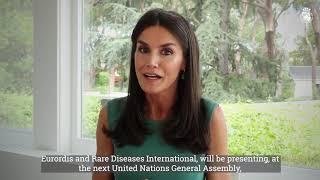 Intervención telemática de S.M. la Reina en el Foro de Alto Nivel de Naciones Unidas sobre los retos de las personas que viven con Enfermedades Raras
