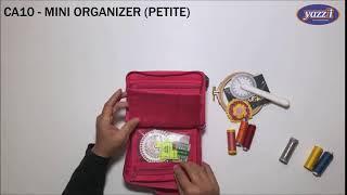CA10 Mini Organizer Petite | Yazzii Craft Bags | Multi-purpose Organizers