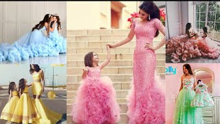 Amazing! Mom And Daughter Matching Outfits| Mother And Daughter Matching Dresses And Outfit İdea