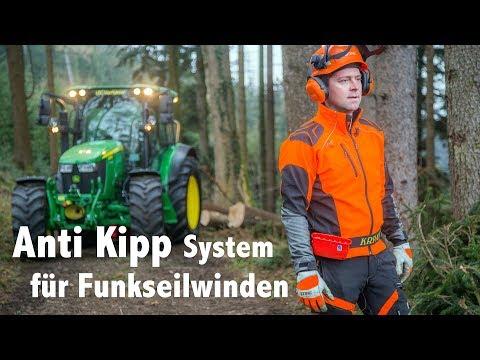 Anti-Kipp-System für Funkseilwinden von Biastec