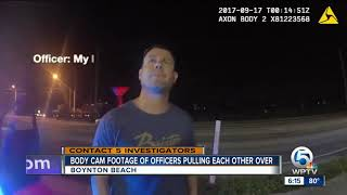 Caught on camera: Police major pulled over for speeding by Boynton Beach officer