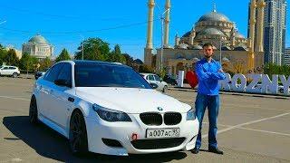 Дикая BMW M5 (e60) на треке