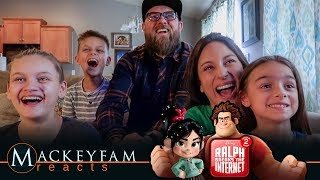 Ralph Breaks the Internet: Wreck-It Ralph 2 Official Trailer REACTION!!!