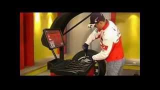 Балансировочный станок (вес колеса 70кг) TK953 220V BRIGHT от компании АвтоСпец - видео