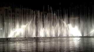 Поющие фонтаны Дубаи 2014