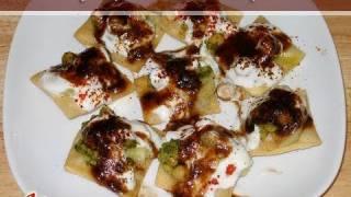 Papdi (Papri) Chaat Recipe by Manjula