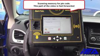 Dodge Dart 2015 pin code extraction & key programming