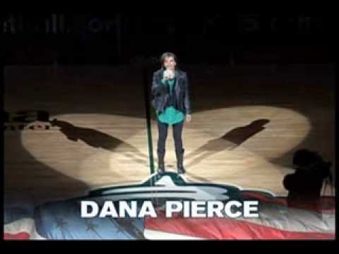Dana Pierce - National Anthem - Seattle Storm - May 17, 2013