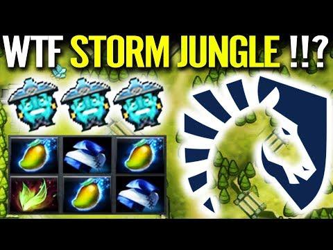 WTF Storm Spirit Jungle!? Miracle New IMBA Cancer Farm Most Fun Dota 2