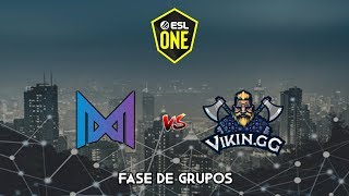 Nigma vs Vikin.gg - ESL One Los Angeles