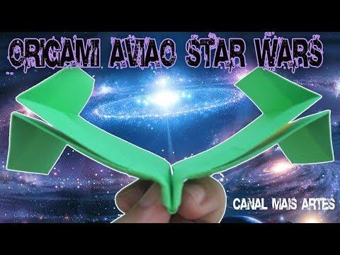 Avião Planador Star Wars