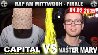 RAP AM MITTWOCH: Capital Bra Vs Master Marv 04.02.15 BattleMania Finale (44) GERMAN BATTLE