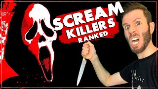 WHO IS THE BEST GHOSTFACE KILLER? | Ranking all seven killers from Scream