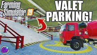 Download PARKING GARAGE FS19 VALET PARKING FARMING SIMULATOR 19 MOD