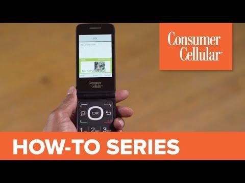 Alcatel Go Flip Cellphone Support - Consumer Cellular