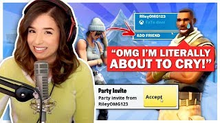 Poki makes 12 Year Old CRY on Fortnite **KID FREAKS OUT**