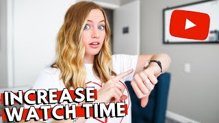 HOW TO MAKE YOUR YOUTUBE VIDEOS MORE INTERESTING: Increase your audience retention rate & watch time