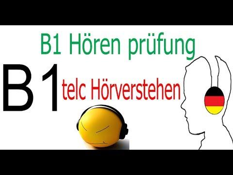 B1 Hören TELC test