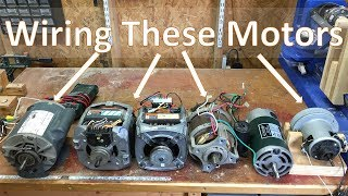 How To Wire Most Motors For Shop Tools And DIY Projects: 031