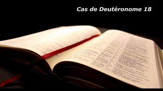 Mahomet / Muhammad est-il annoncé dans la Bible? Cas de Deutéronome 18.