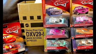 New Disney Cars 3 Toys 2018 Diecast Cars Case B Unboxing & GIVEAWAY - Rich Mixon Sheldon Shifter