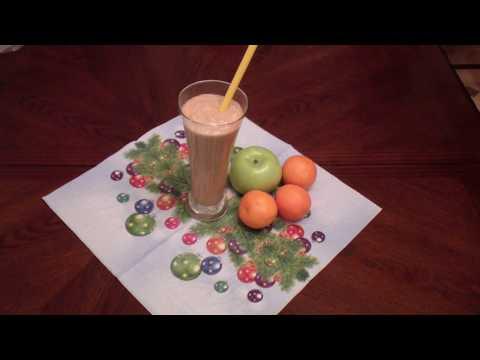 Для здоровья  Коктейль - Смузи  с апельсином и бананом.