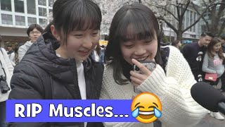 Japanese People's Ideal MALE Body Type (Interview)