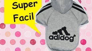 Hacer Ropita Para Perrito-  Easy D.I.Y. Dog Clothes!!!💖(*SUPER FACIL***)