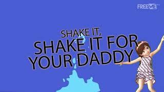 D'Banj Ft Tiwa Savage   Shake It [Lyric Video] | FreeMe TV