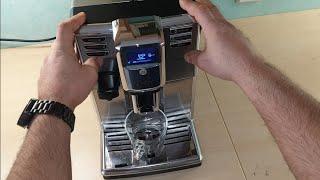 Saeco Incanto kein wennig Kaffee in der Tasse HD8917 reparieren Brühgruppe /No Coffe problem repair.