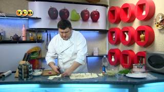 Слоёные трубочки из лаваша с картофельным пюре - Дело вкуса