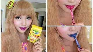 How To Make Crayon Lipstick !!!