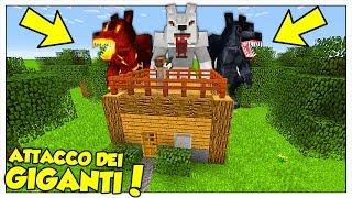 I LUPI MANNARI GIGANTI ATTACCANO LA NOSTRA CASA! - Minecraft ITA