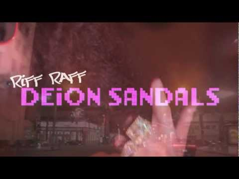 RiFF RAFF - DEiON SANDALS (Official Video)