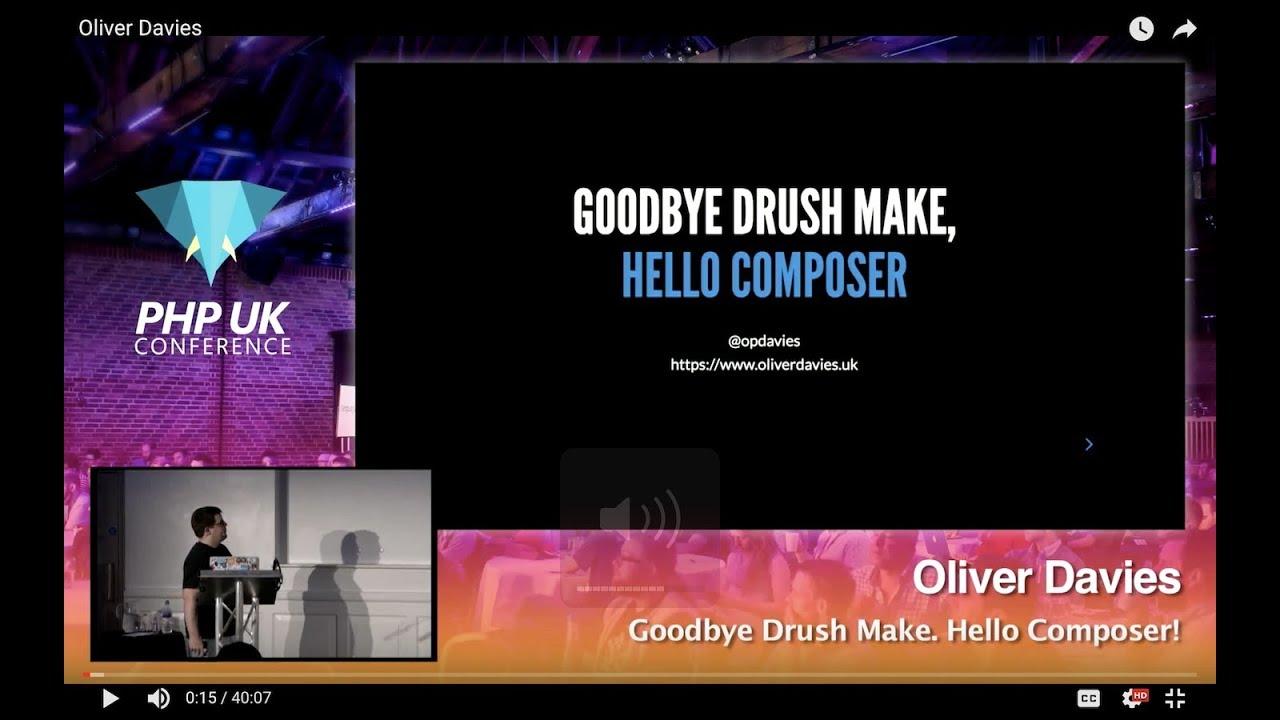 Goodbye Drush Make. Hello Composer!