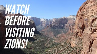Watch before visiting Zion National Park
