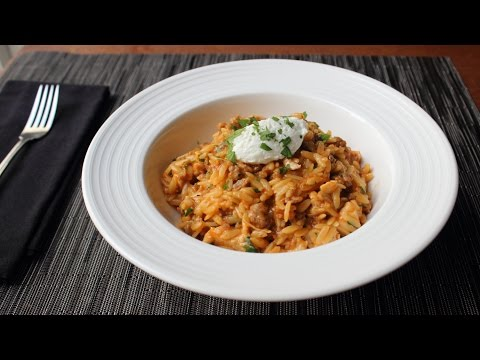 One-Pot Chicken & Sausage Orzo – Fast & Easy Pasta Recipe