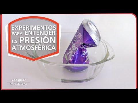 Experimentos para entender la presión atmosférica
