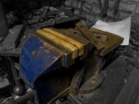 Schraubstockbacken aus Holz selber machen (Anleitung)