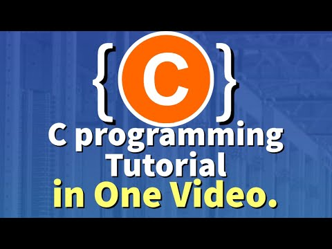C Programming Tutorial | Learn C programming | C language (2021)