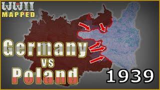 WW2 Animated: Germany vs Poland, 1939