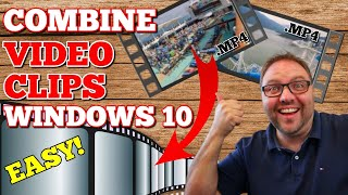 How to Merge Videos in Windows 10 | Combine Video Files | Free