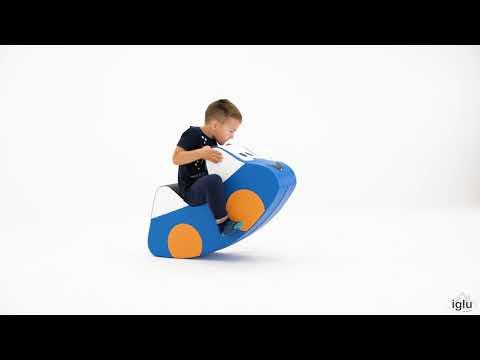 IGLU Soft Play Šūpuļzirdziņš AUTO
