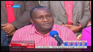 Nyeri Jubilee aspirants vow their support to President Uhuru Kenyatta for re-election